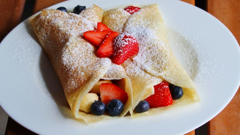 Dessert Crepes Recipe by ANN57 - RedCipes