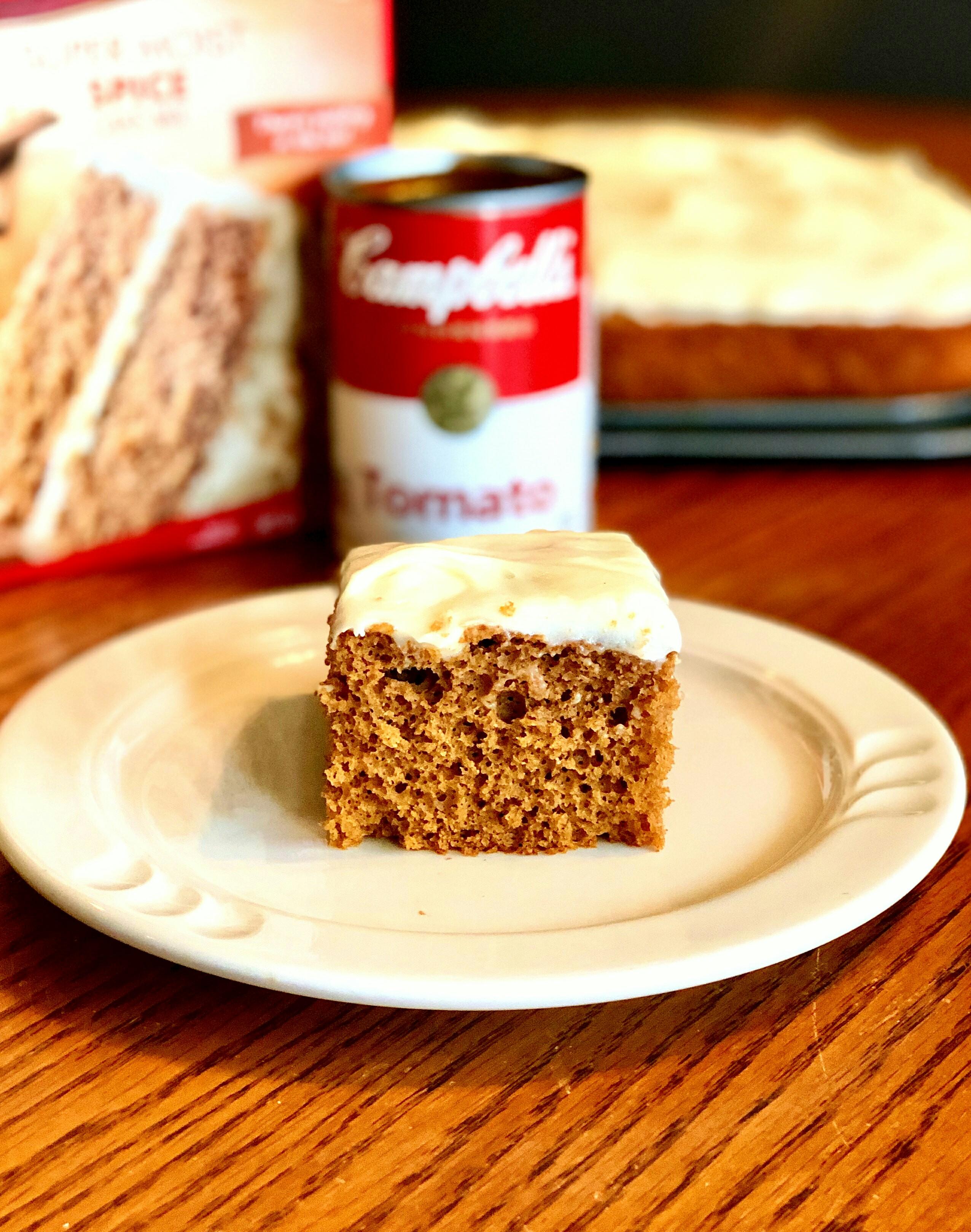 Easy Tomato Spice Cake image