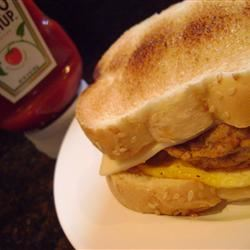 Campfire Breakfast Sandwich Jillian