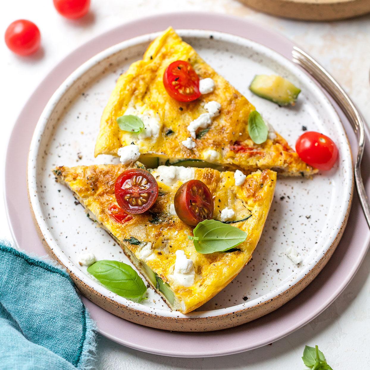 Zucchini Frittata Recipe Eatingwell
