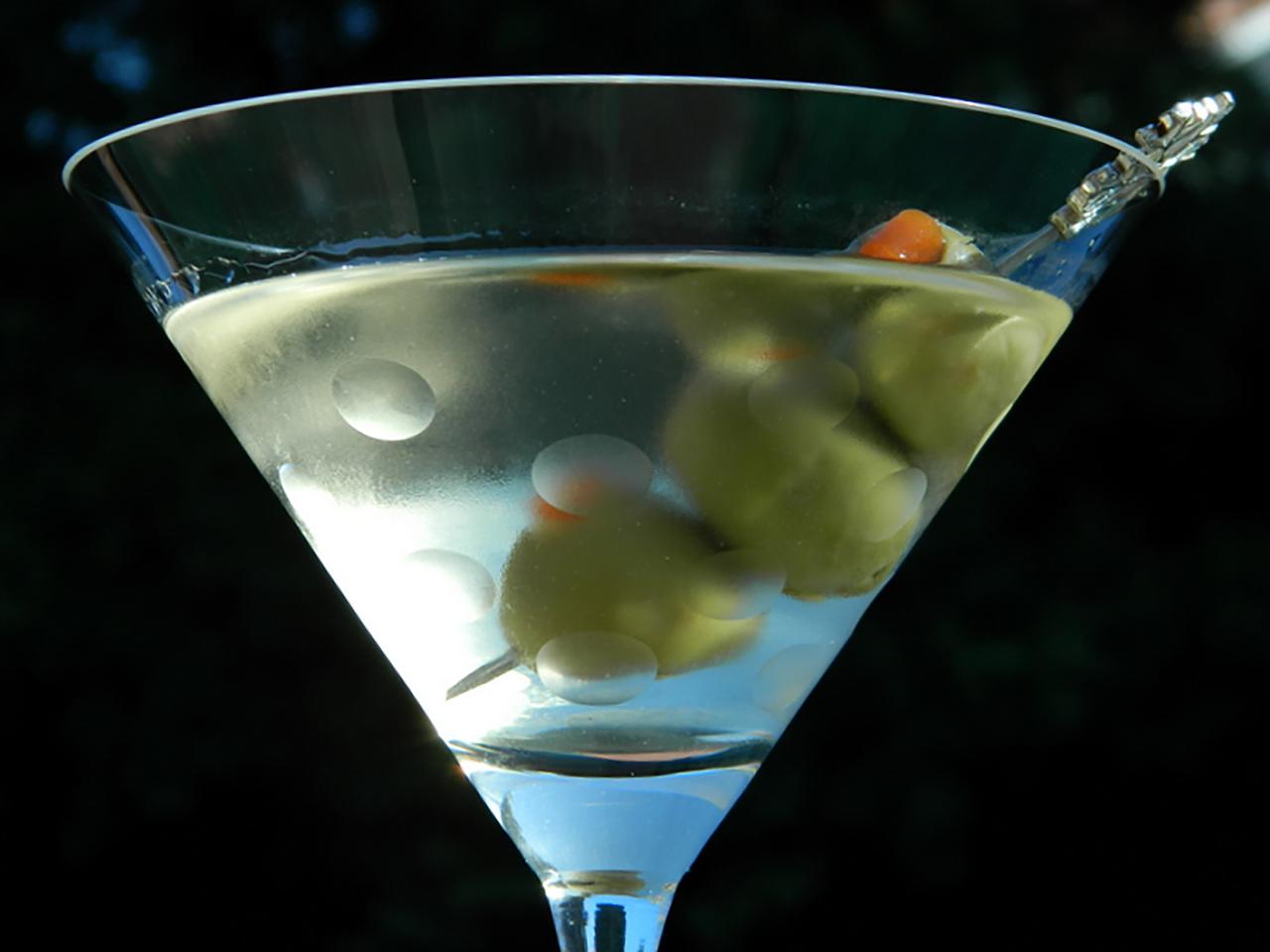 Vodka Martini Cocktail image