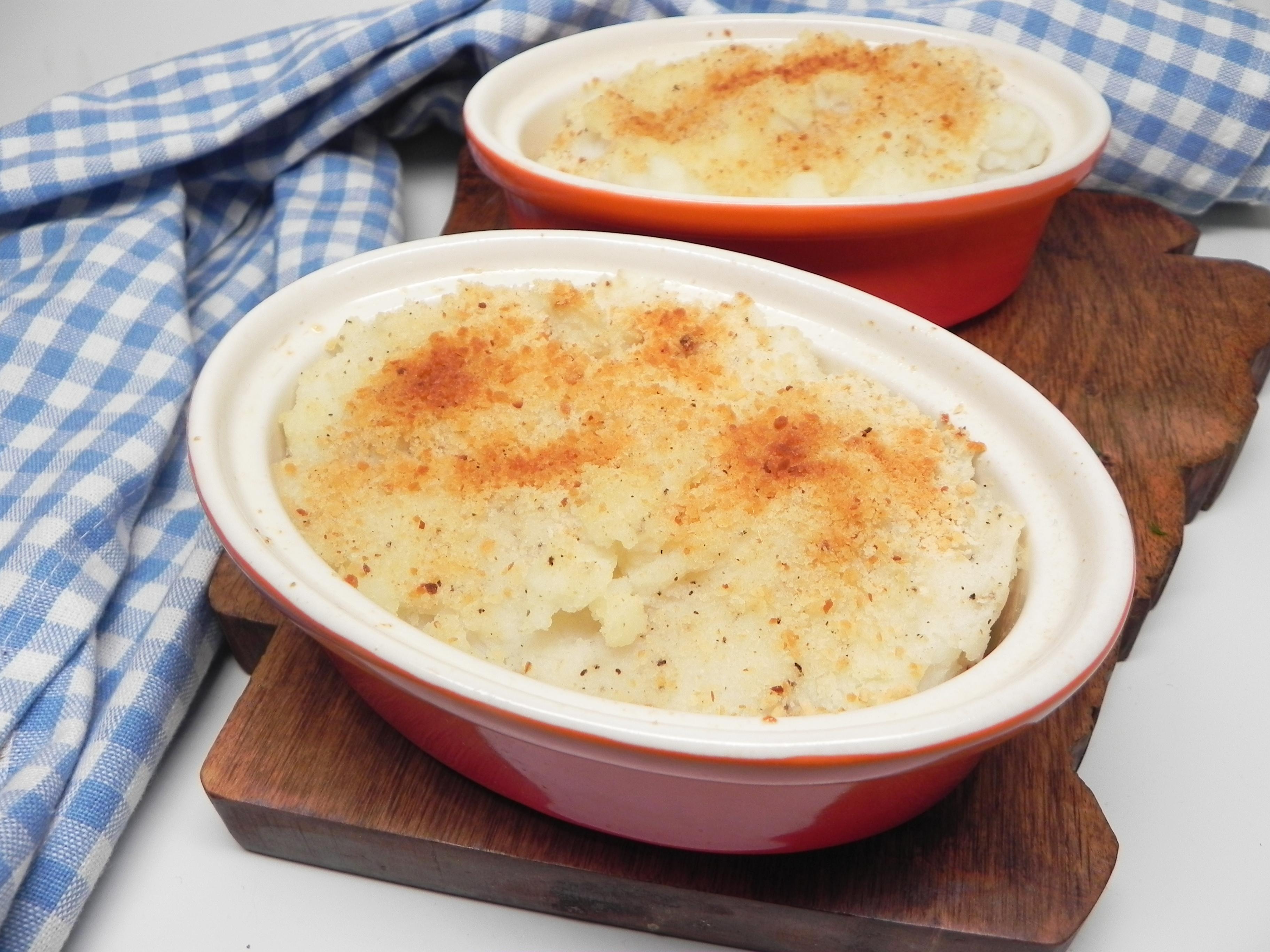 Baked Garlic Mashed Potatoes image