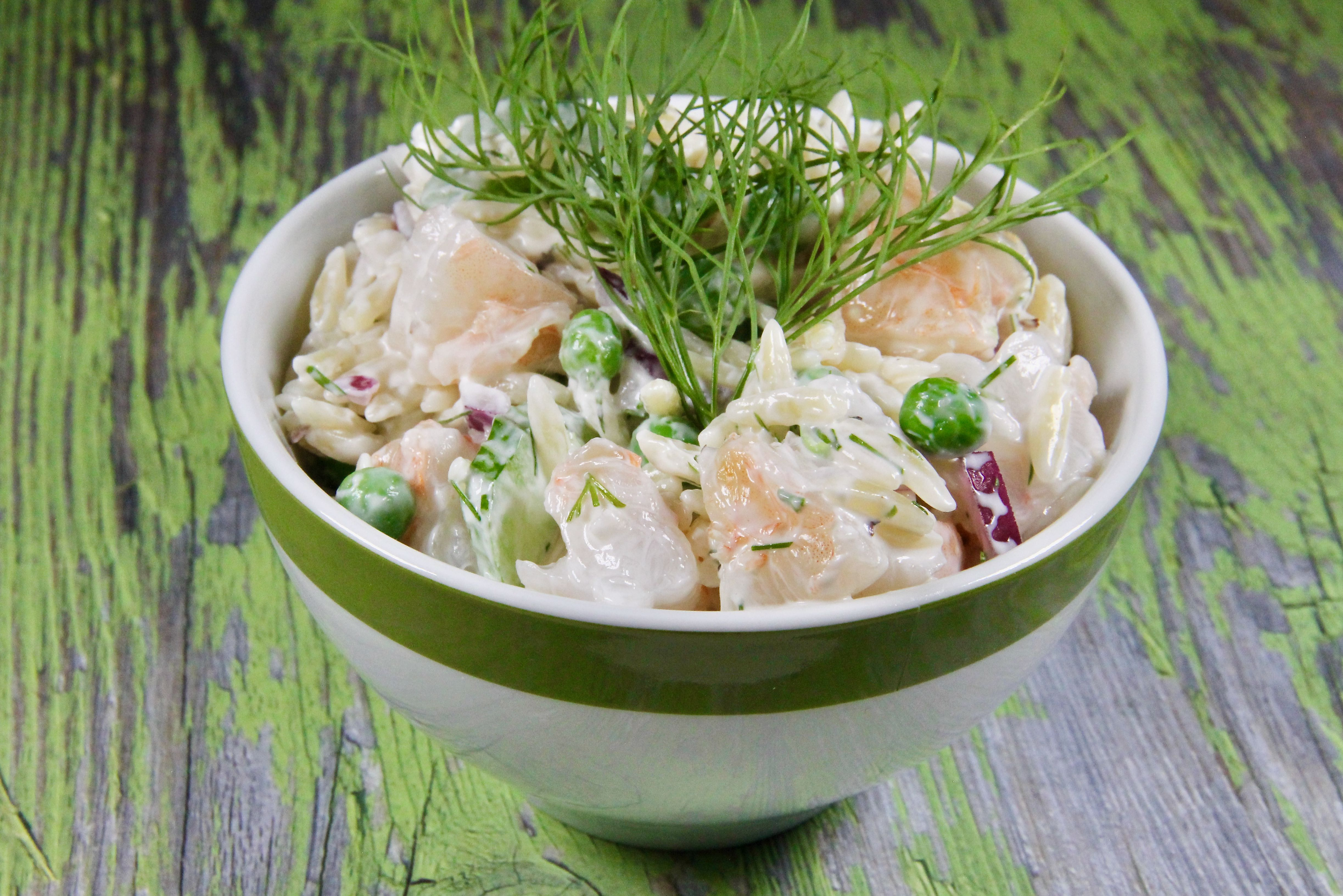 Shrimp Pasta Salad With Dill image