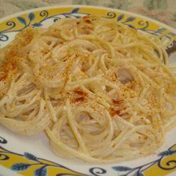 Pasta with Yogurt Sauce Purgirl