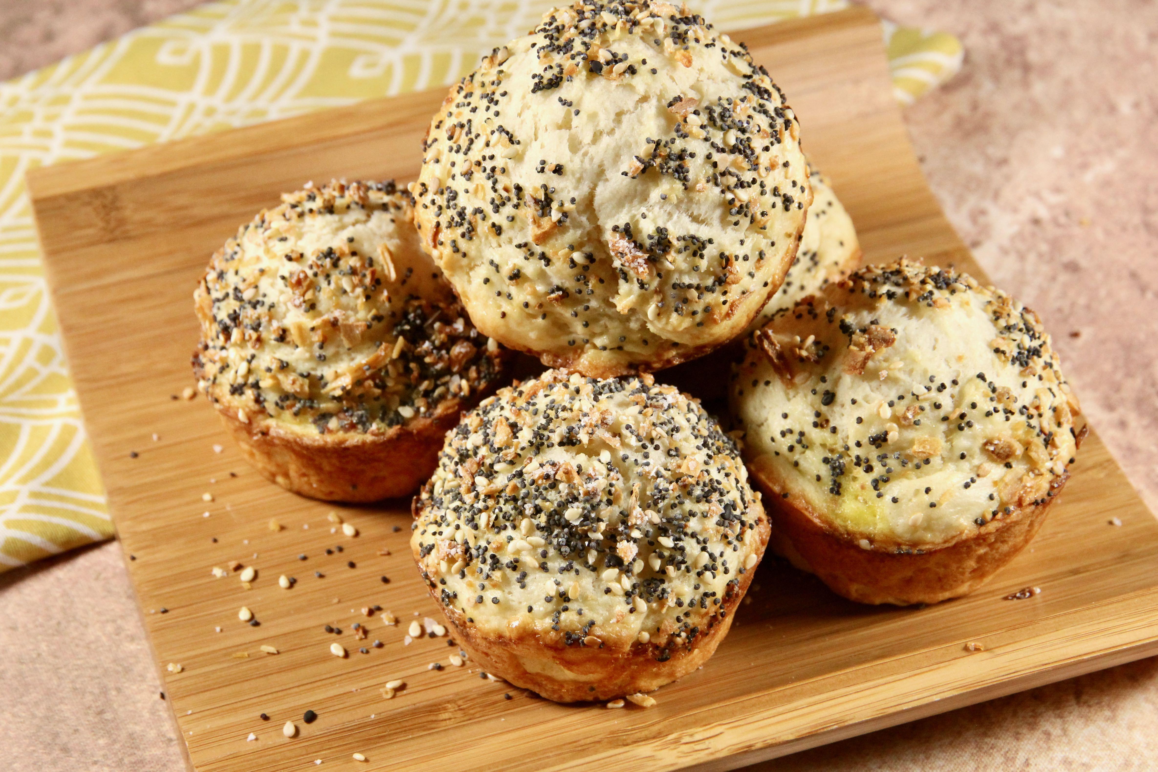 No Yeast Everything Dinner Rolls Recipe Allrecipes