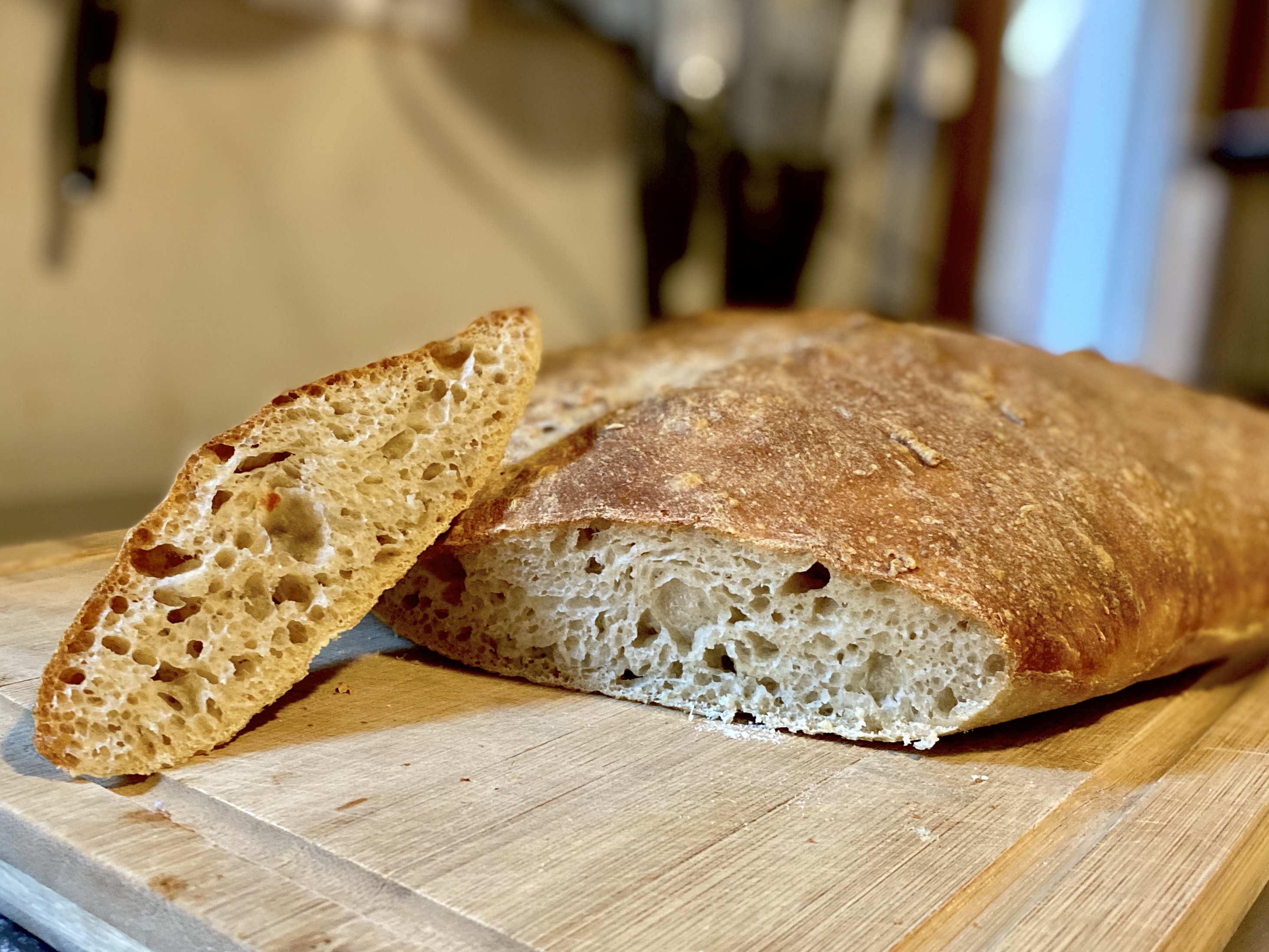 No-Knead Country Bread image