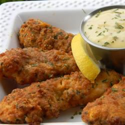 Zesty Low-Fat Chicken Strips with Honey Mustard Dip Baking Nana