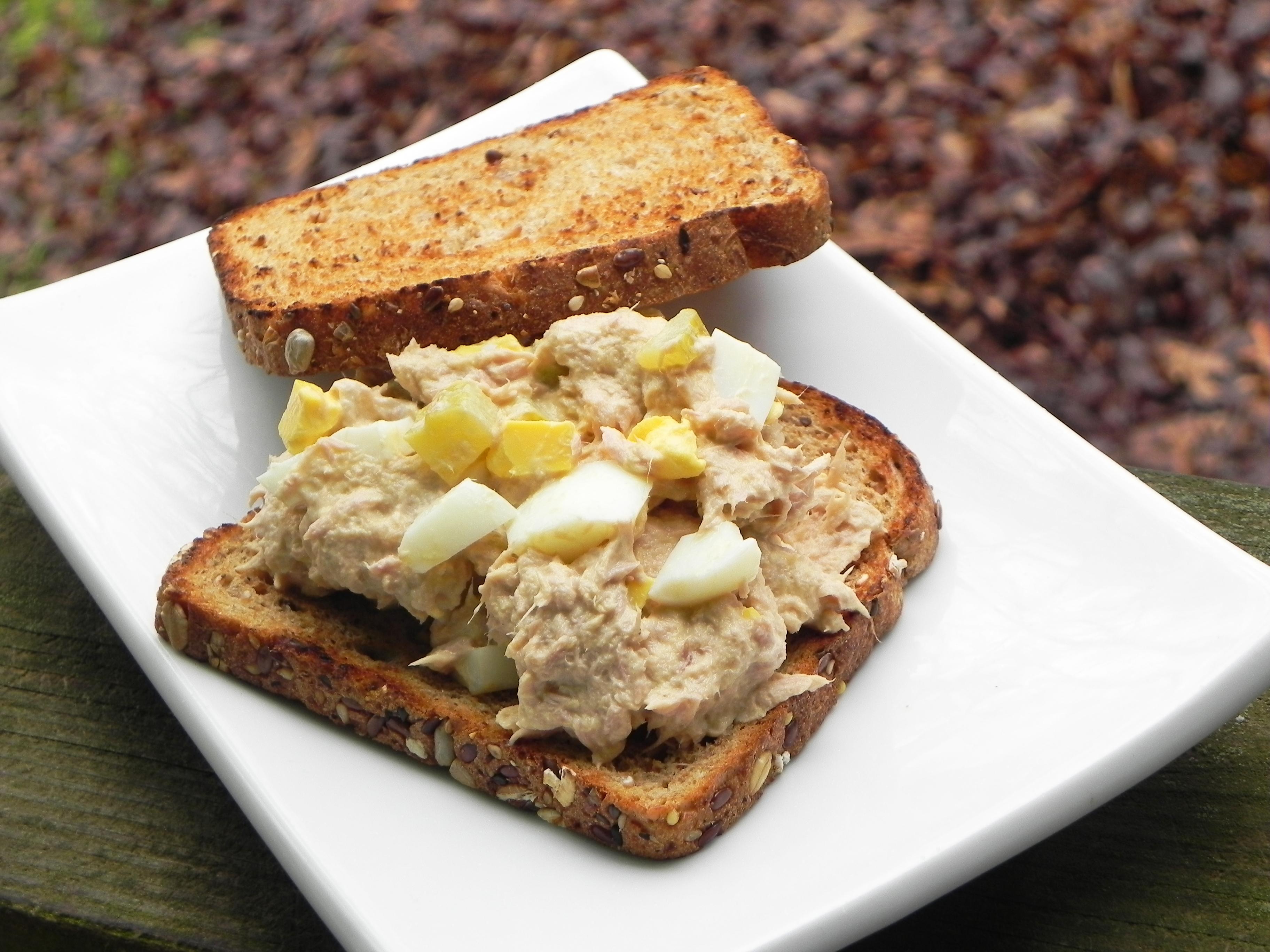 Tuna Salad with Hard-Boiled Eggs_image