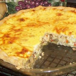 Easy Sour Cream Chicken Quiche Pam Ziegler Lutz
