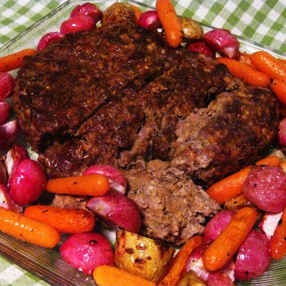 Old Fashioned Ozarks Meatloaf