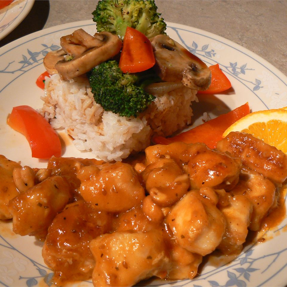 Mandarin Orange Chicken Tammie Bickar