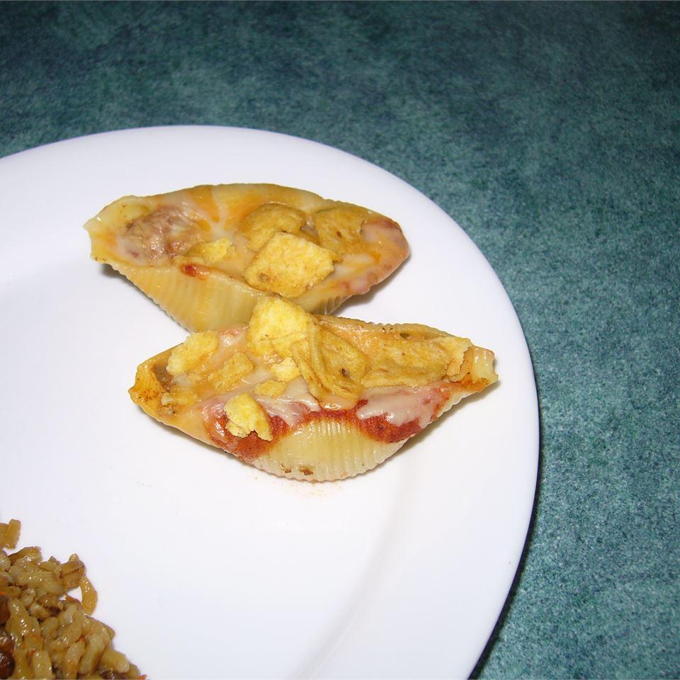 Tacos in Pasta Shells 5Foot3