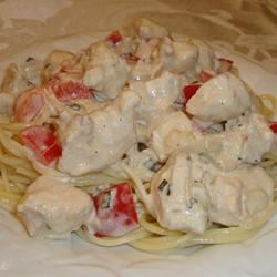 Herbed Chicken and Fettuccini Janet Allen
