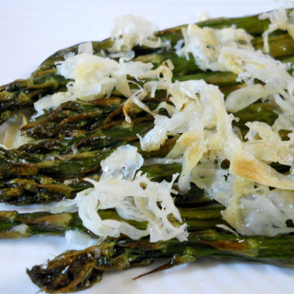 Broiled Asparagus Parmesan