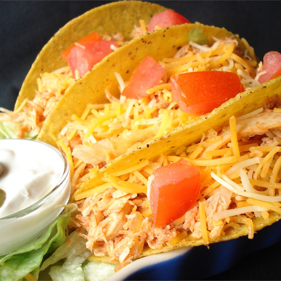Sarah's Easy Shredded Chicken Taco Filling Shearone