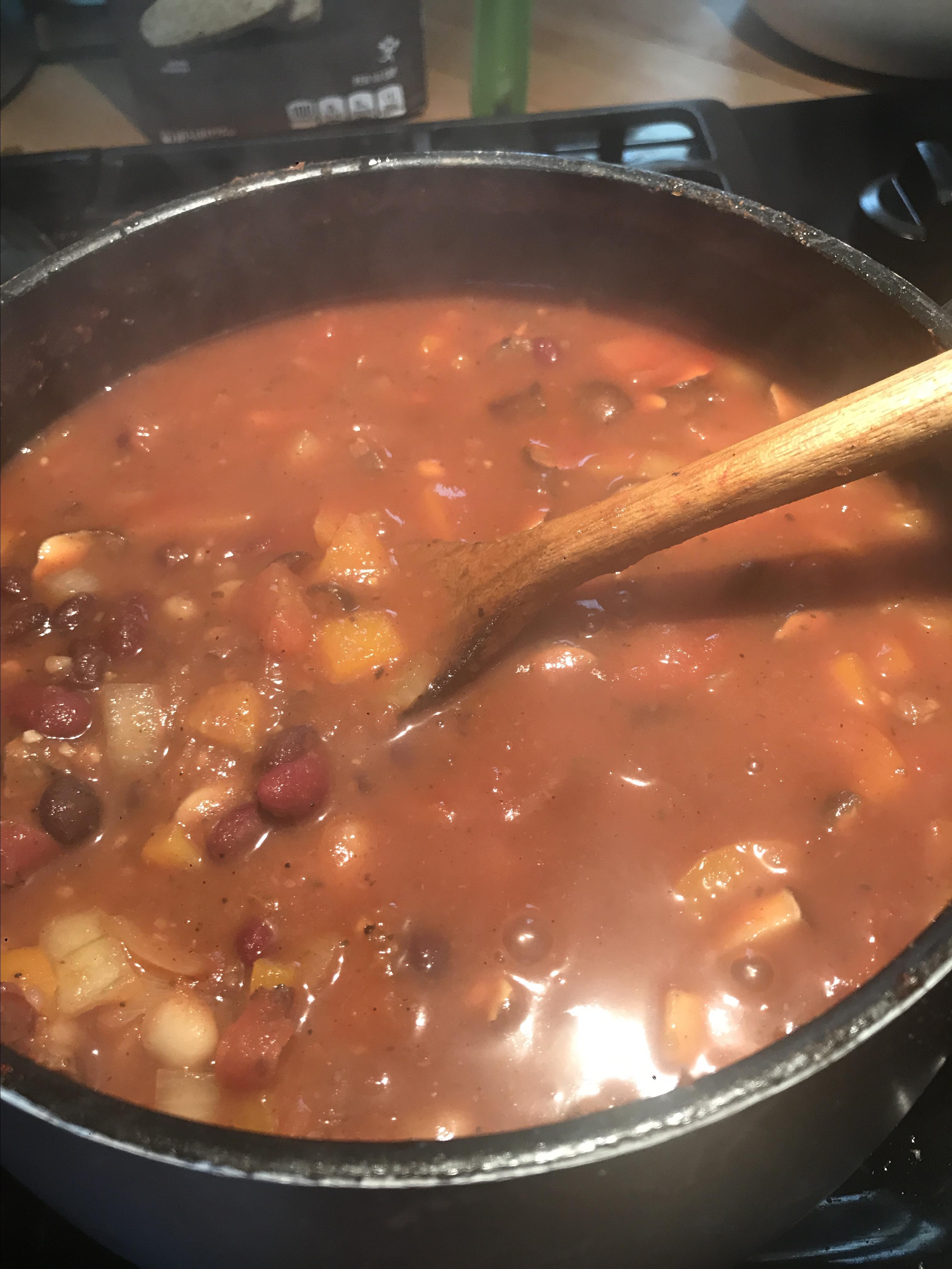 Low Calorie Vegan Chili Recipe Allrecipes