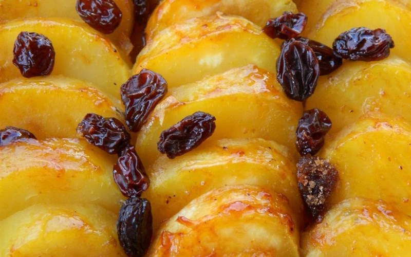 Sweet Potatoes with Brandy and Raisins