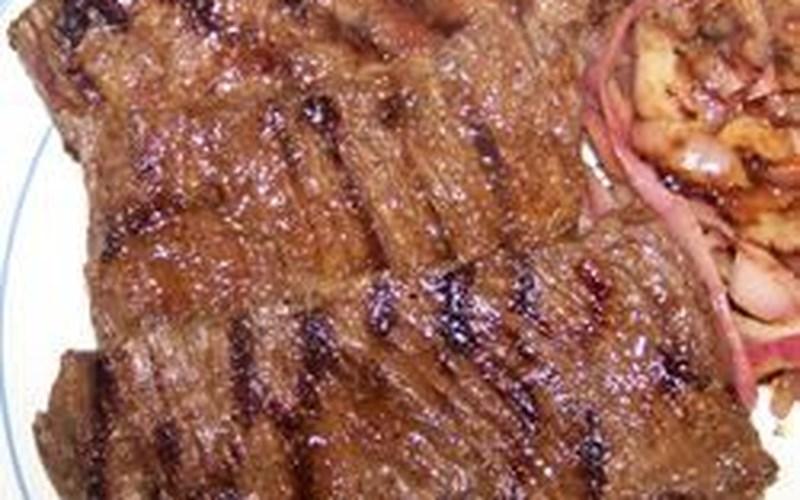 China Lake Barbequed Steak