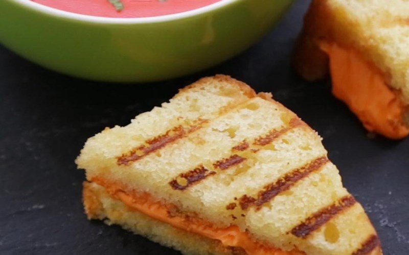 April Fool's Grilled Cheese Sandwich