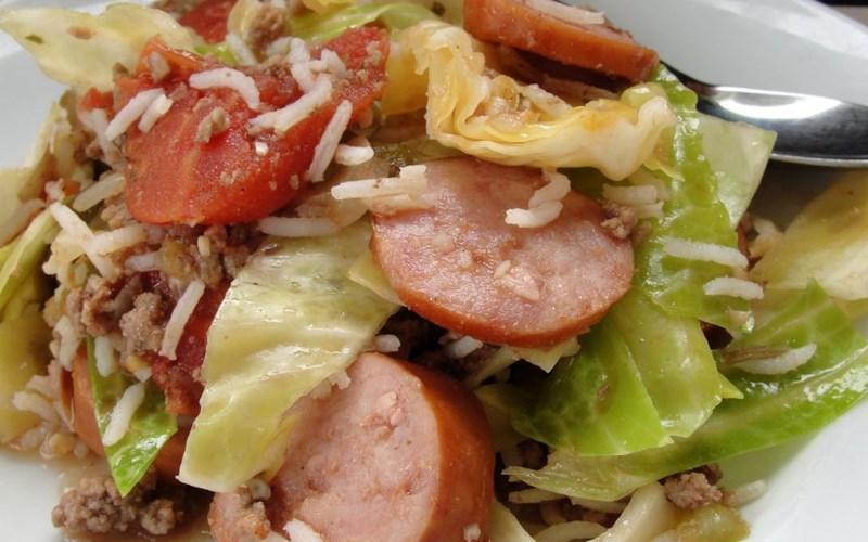 Cabbage Jambalaya