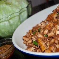 Vegetarian Tofu Lettuce Wraps