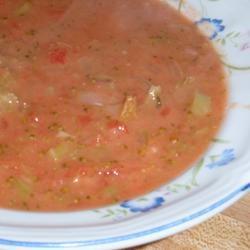 Tomato and Broccoli Soup sueb
