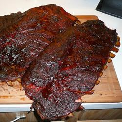 Not Your Every Day Smoked Pork Spare Ribs