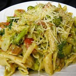 Pasta, Broccoli and Chicken Molly
