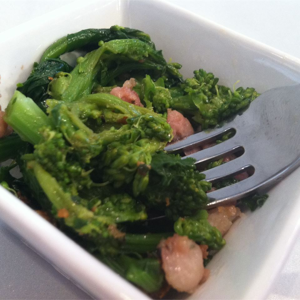 Broccoli Rabe and Sausage