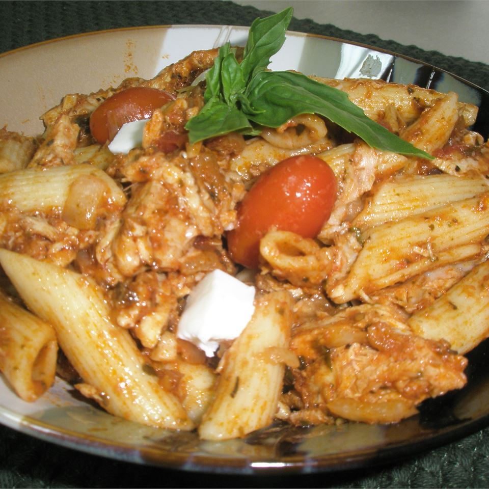 Balsamic Chicken and Pasta Tracey Ferrari Posner