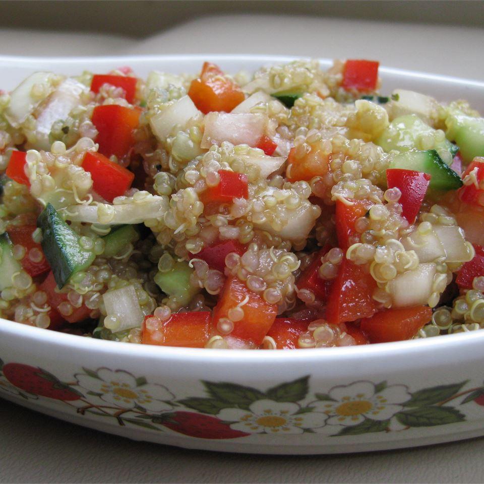 Mediterranean Quinoa Salad Coulter