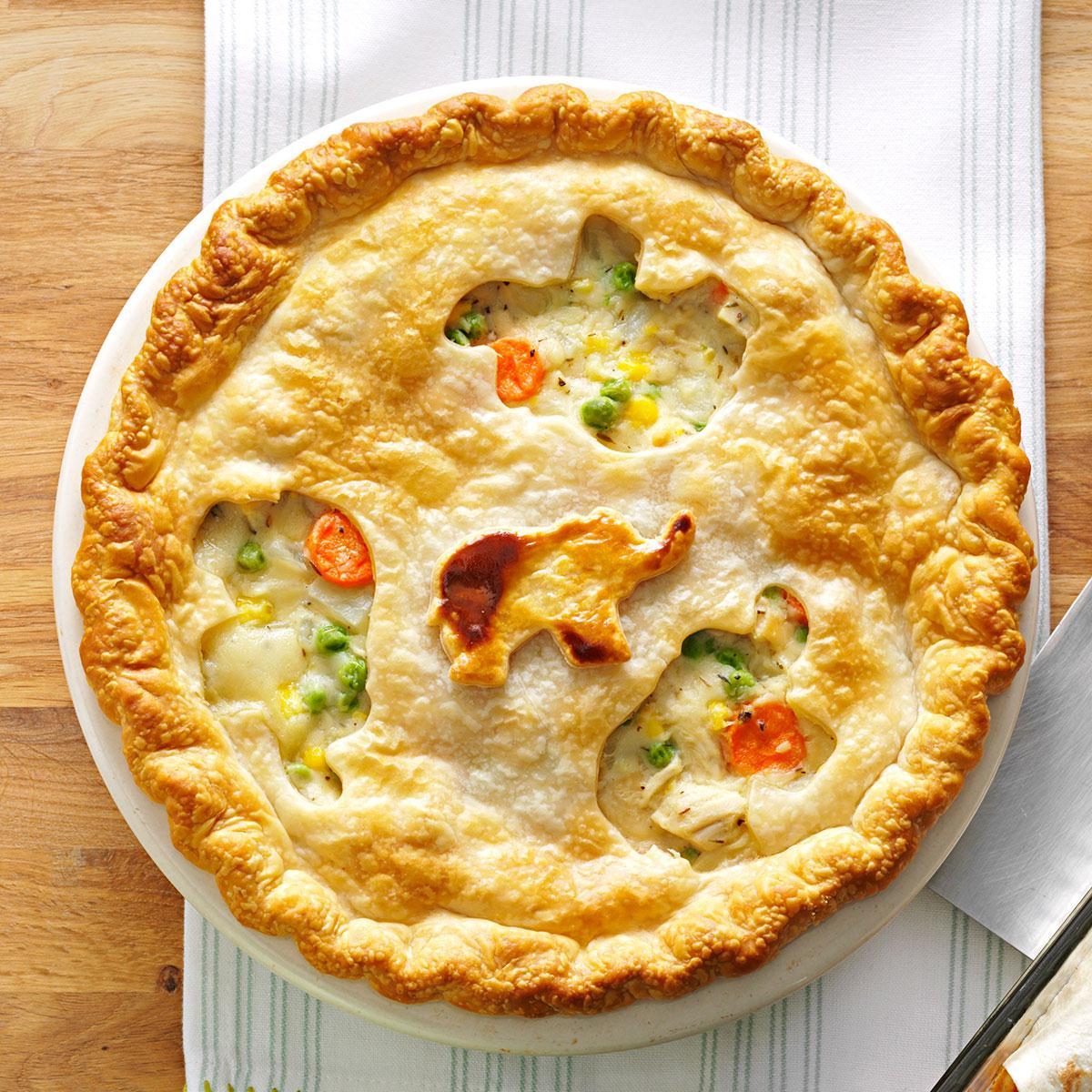 Bánh pot pie có nguồn gốc từ người nhập cư