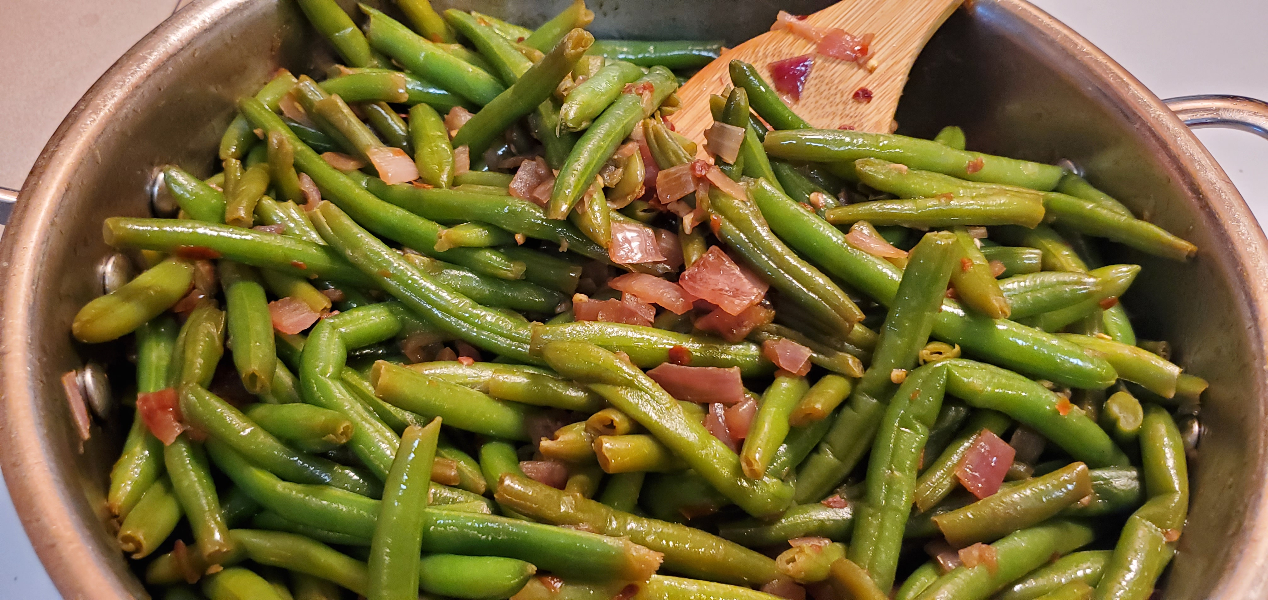 Sauteed Green Beans with Garlic_image