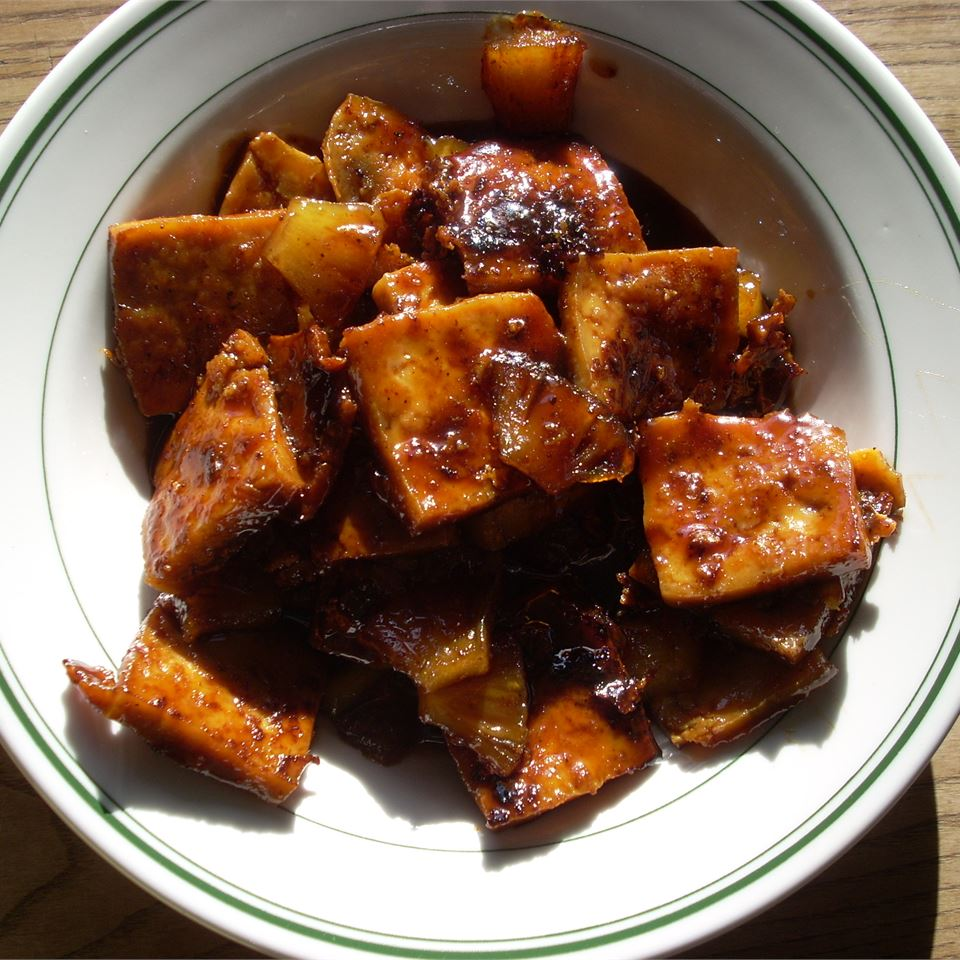 Maple Glazed Tofu