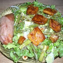 Maple Glazed Tofu cookin' for cash