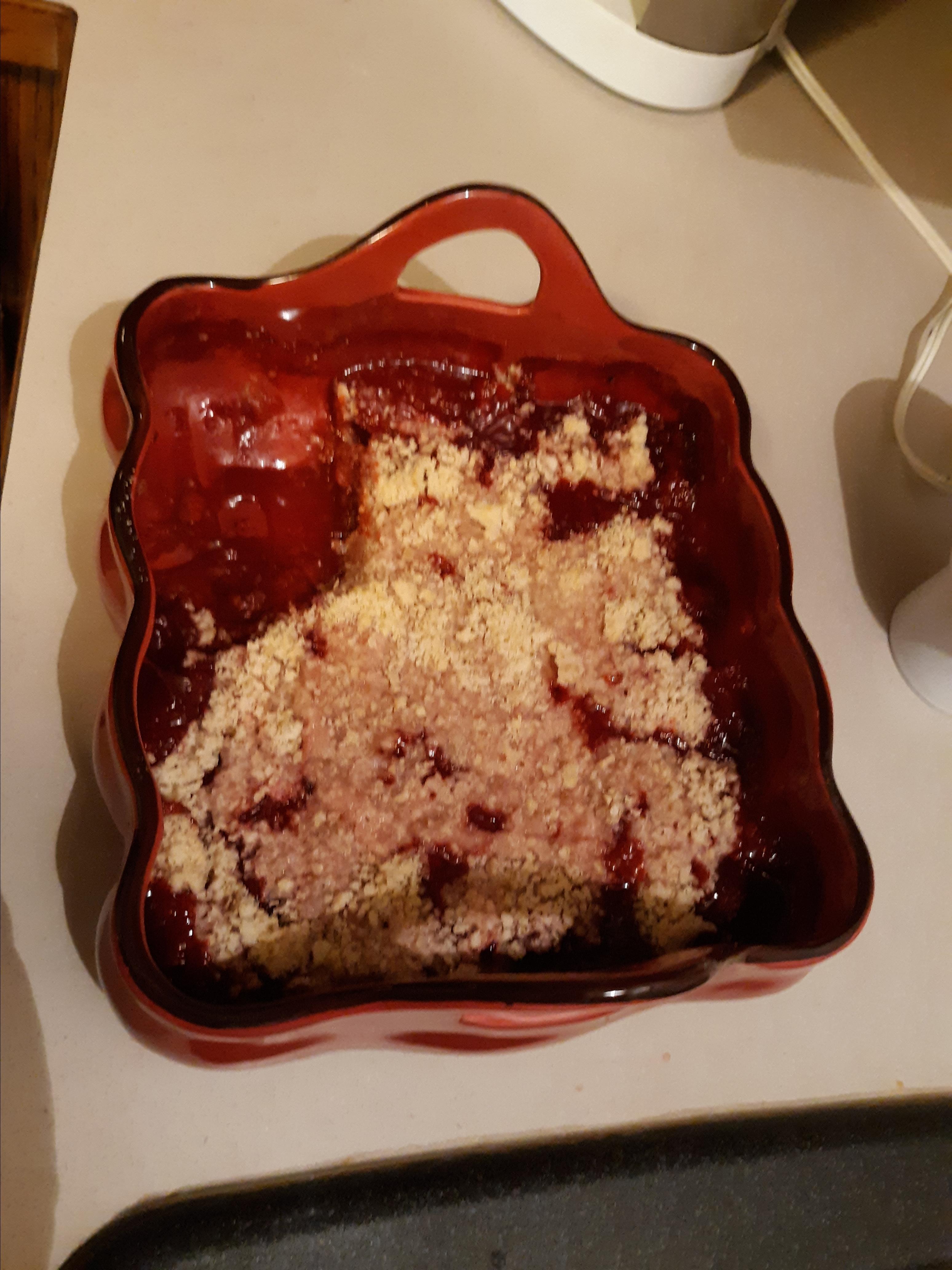 Strawberry Crisp_image