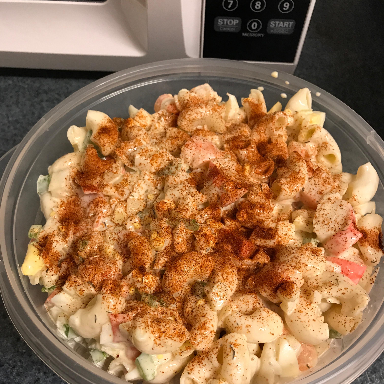 Shrimp and Crab Macaroni Salad_image