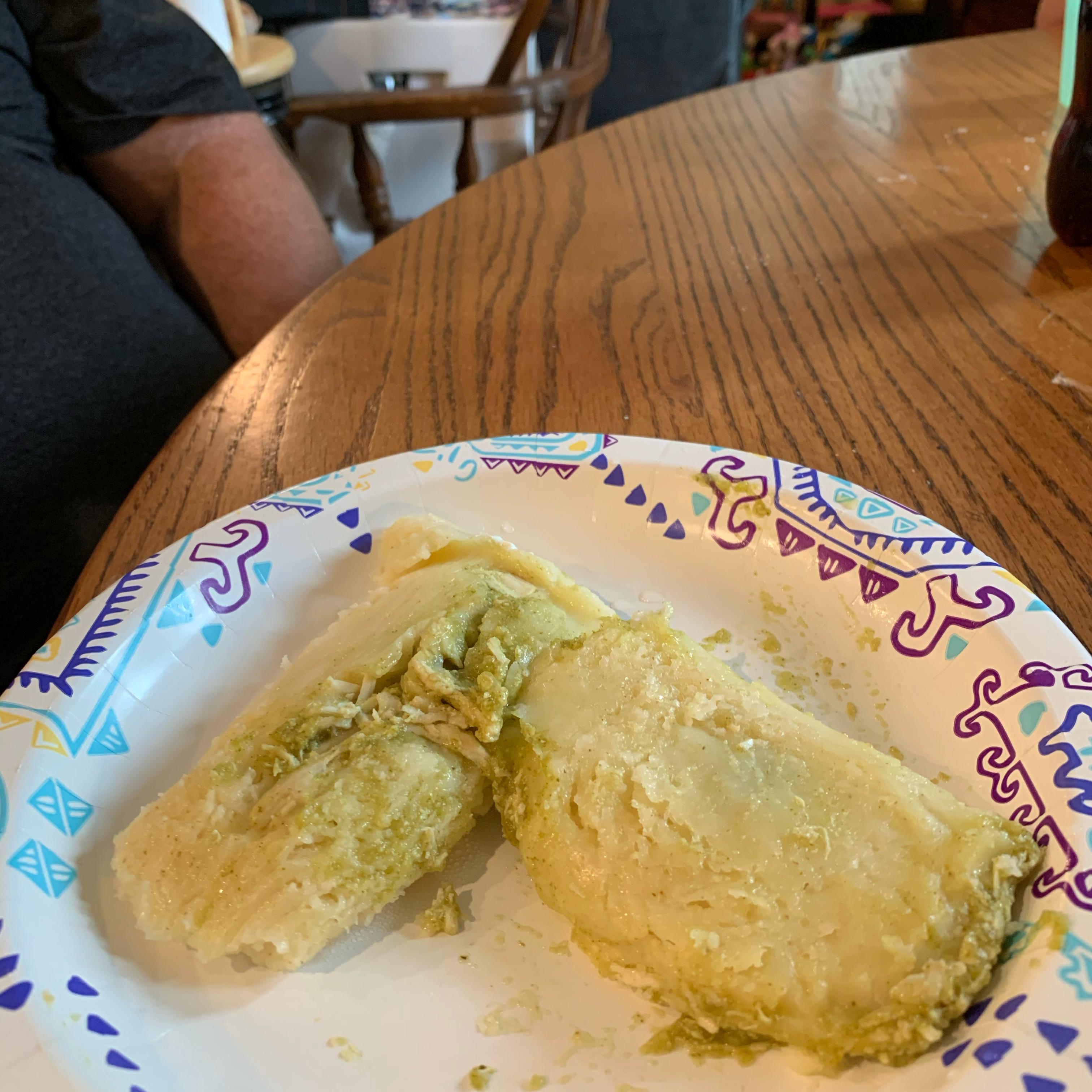 Green Chicken Tamales image
