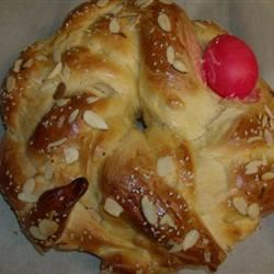 Yia Yia's Tsoureki (Greek Easter Bread)