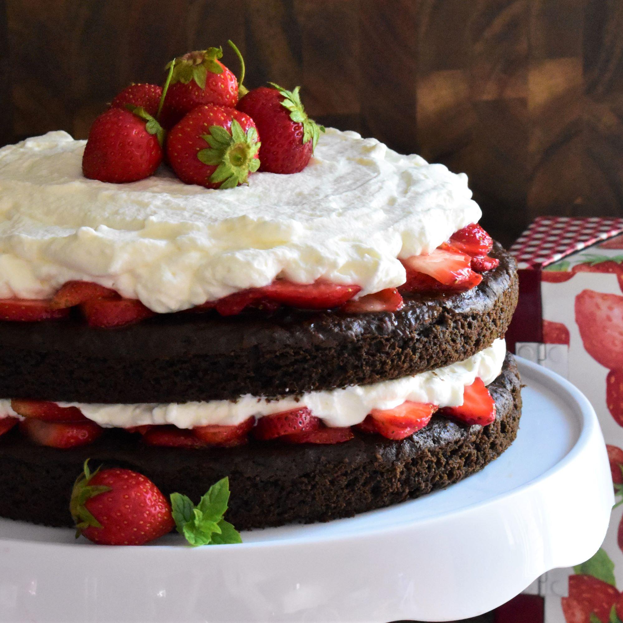 Chocolate Strawberry Shortcake_image