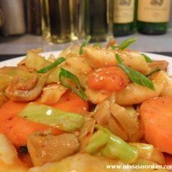 Dak Galbi (Korean Spicy Chicken Stir-Fry)