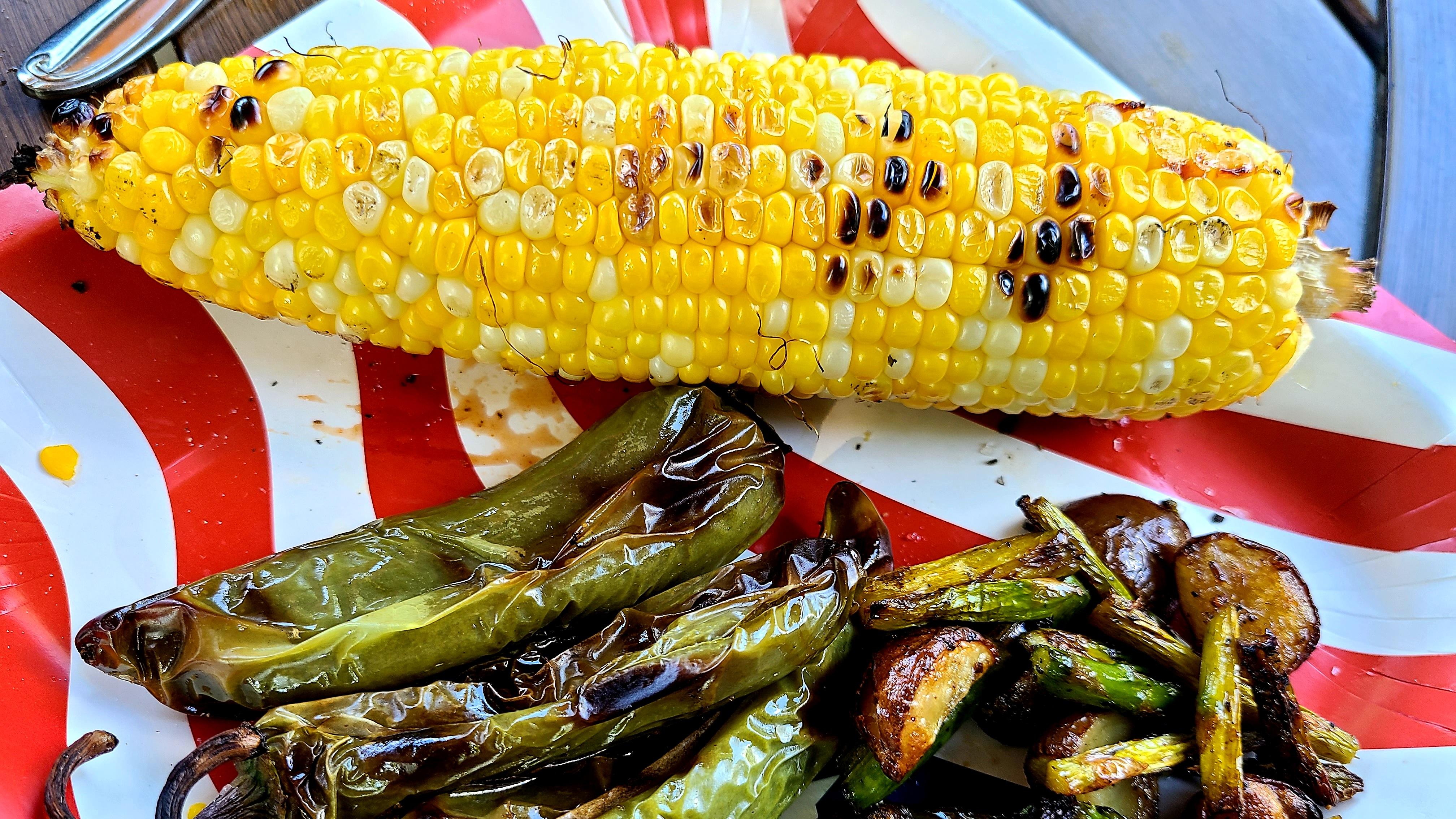 Parmesan Roasted Corn on the Cob_image
