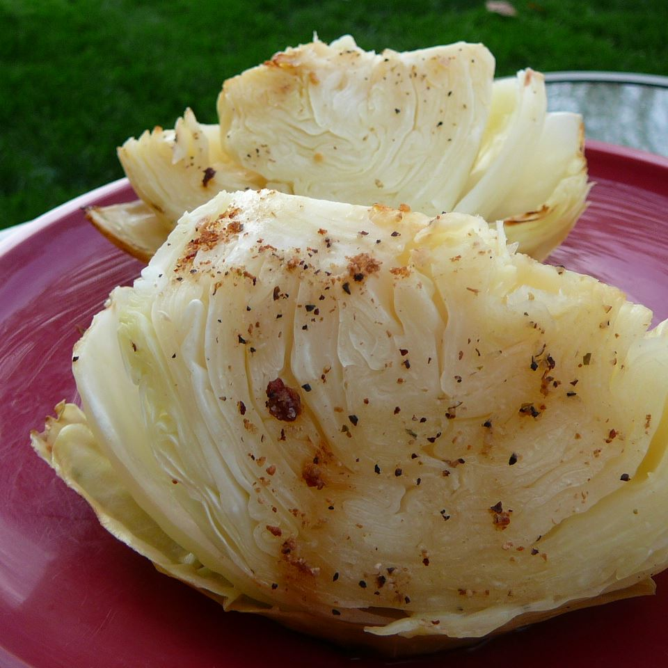 Cabbage on the Grill