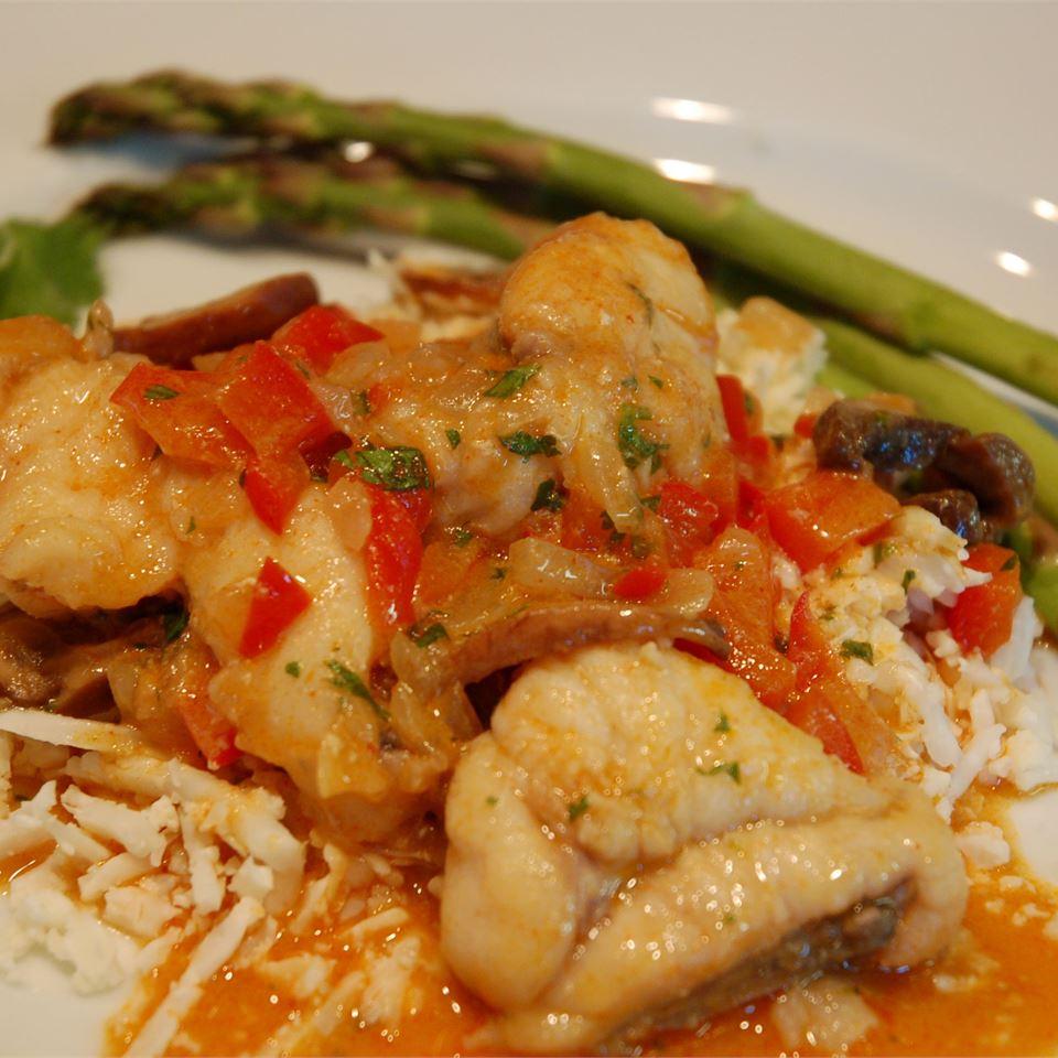 Thai Monkfish Curry