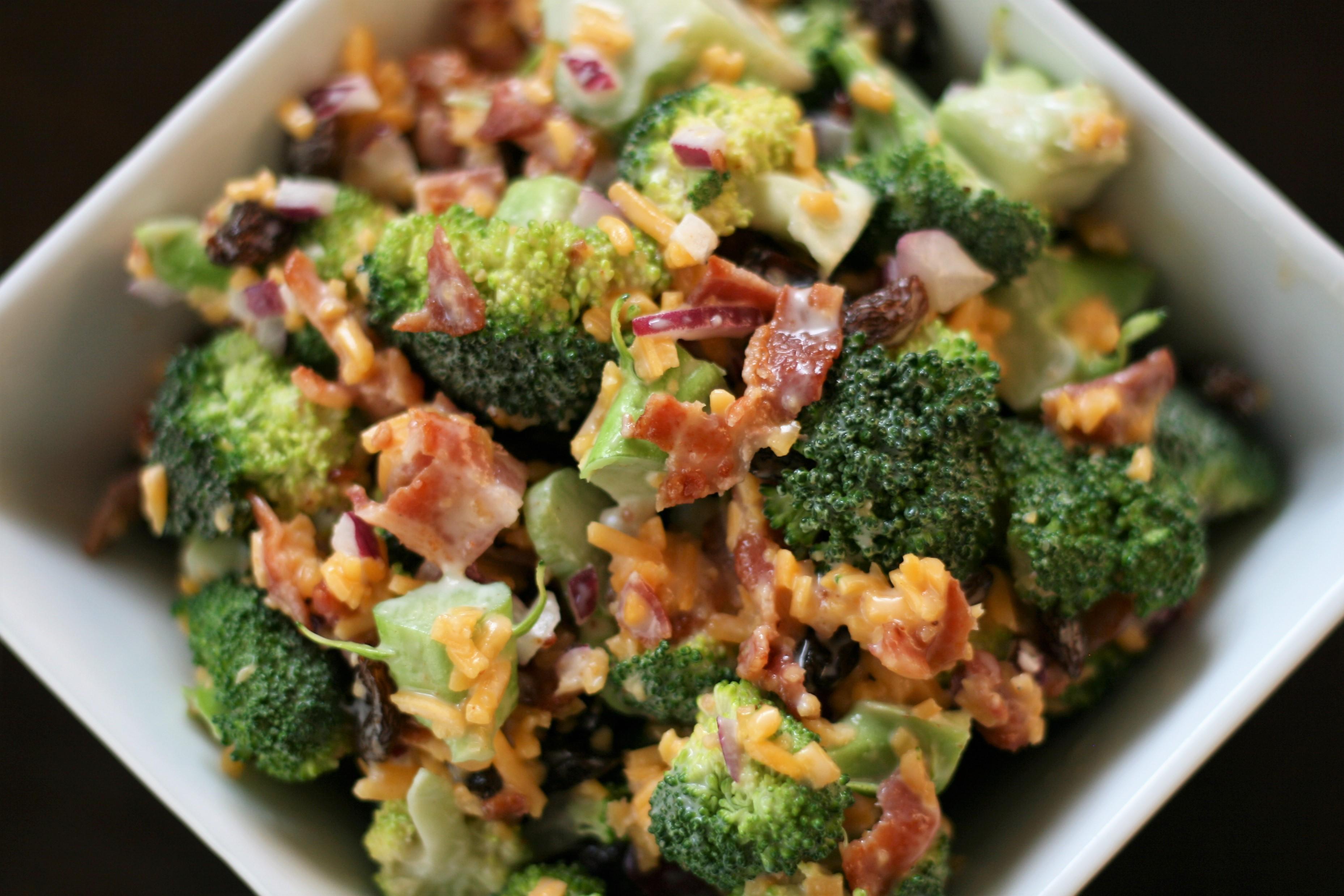 Broccoli Salad Recipe Cheese Bacon