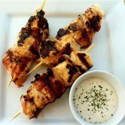 Bacon Ranch Chicken Skewers LatinaCook