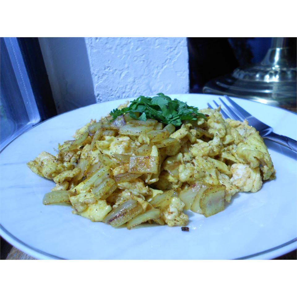 Nepalese Scrambled Eggs Melanie Booth