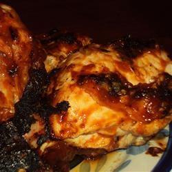 Spicy BBQ Chicken Happyschmoopies