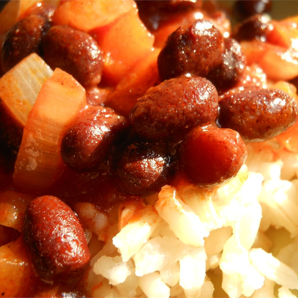 Jamie's Black Beans and Rice