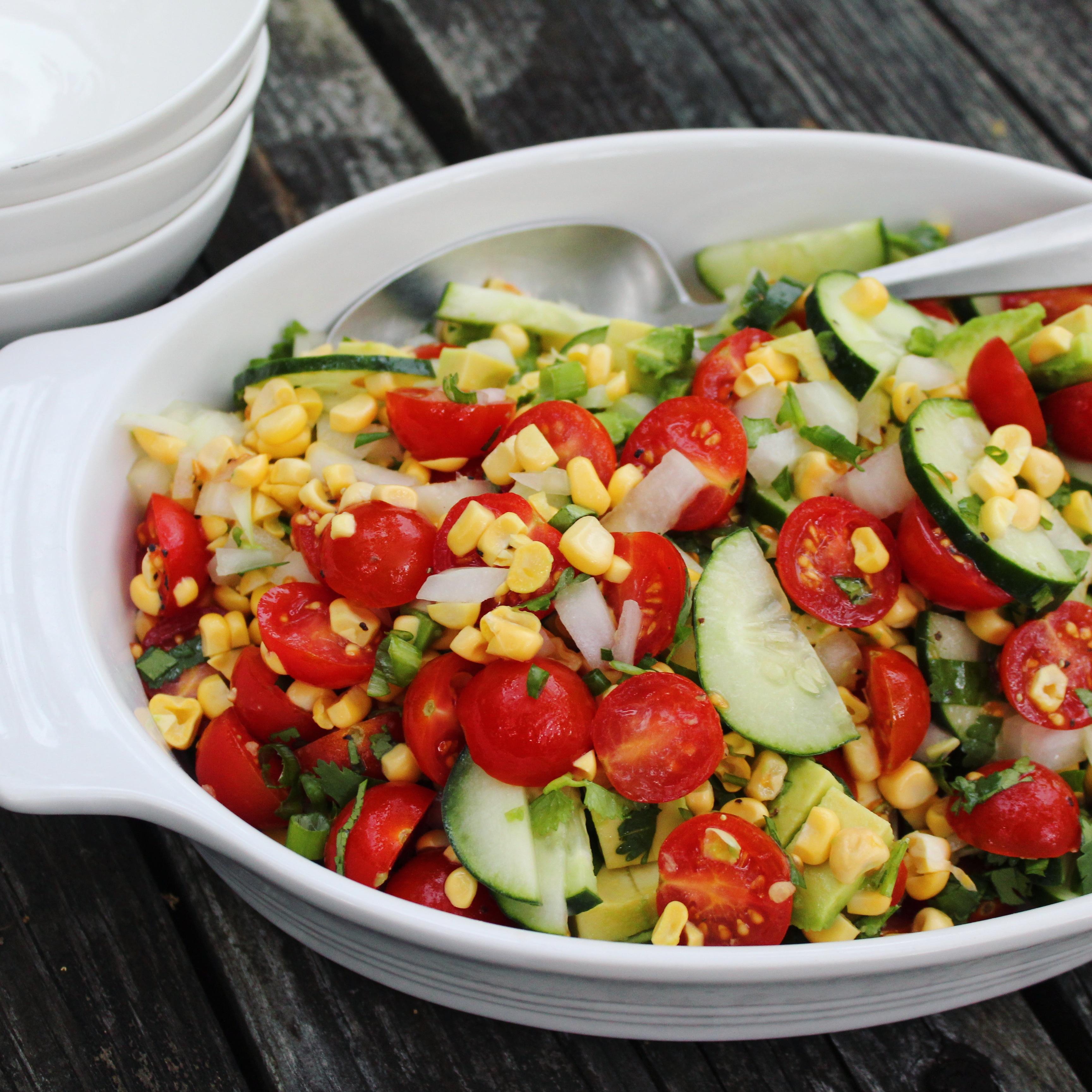 Raw Corn Salad image